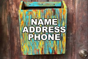 Name Address Phone (NAP)