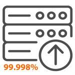 Uptime Icon 99.998%